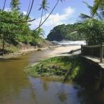 Encontro de rio e mar